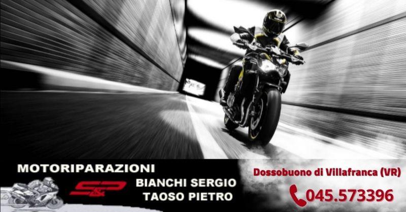 Offerta centro revisioni moto Villafranca - Occasione tagliando taratura sospensioni moto Verona