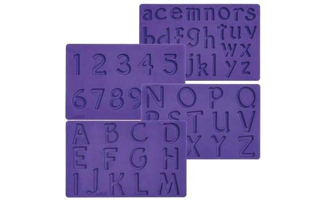 Offerta - Tappetino In Silicone 4 Stampi numerici