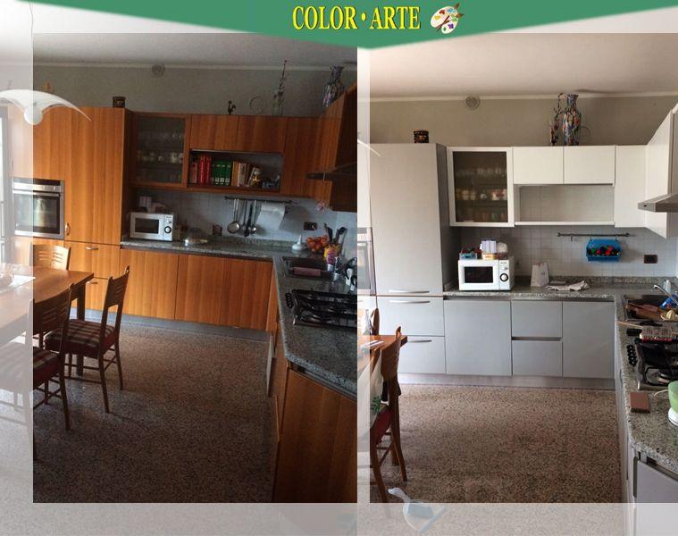 Offerta servizio restyling colore cucina Treviso - Color - Arte
