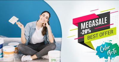 offerta vendita prodotti tinteggiatura casa occasione distribuzione impregnanti per la casa