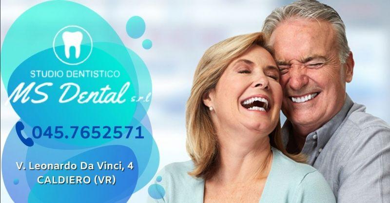 MS DENTAL - Occasione miglior studio dentistico per protesi dentarie mobili provincia Verona