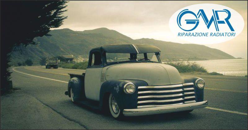 g.m.r. offerta riparazione radiatori auto d'epoca - occasione vendita radiatori moto d'epoca