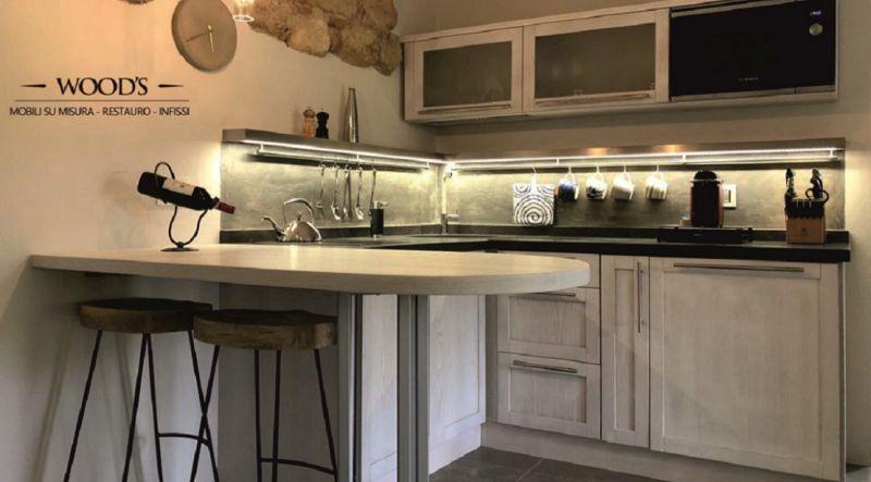 offerta vendita cucine artigianali e su misura il legno Siena - Falegnameria WOOD'S