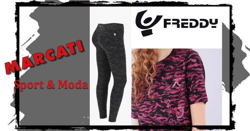 Offerta nuova collezione Donna Freddy Camouflage Vicenza - Occasione Felpa Donna Camouflage Freddy