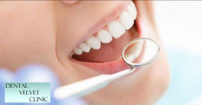 dental velvet clinic offerta chirurgia e implantologia mininvasiva occasione dentista gonars