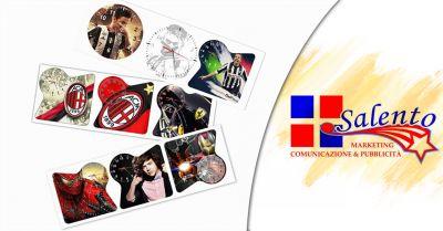 offerta servizio vendita orologi personalizzati promozione distribuzione orologi a brindisi