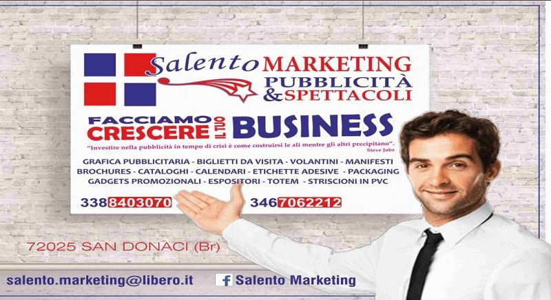 Salento Marketing offerta stampe - occasione insegne luminose Brindisi