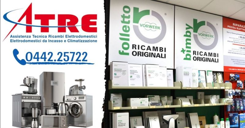 Offerta Centro riparazione aspirapolveri Folletto - Occasione vendita accessori originali Vorwerk Folletto Verona