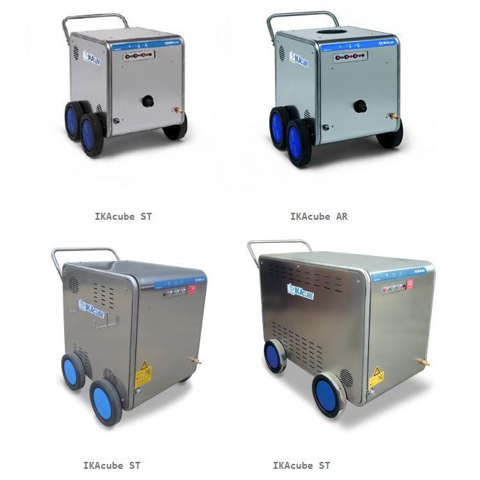 Offerta vendita ecoidropulitrici Idroelectric system-IKA - Produzione IKAcube IKAstation IKAjet