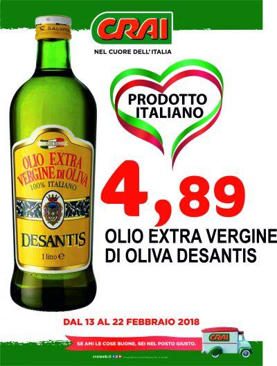 offerta olio extra vergine di oliva desantis udine occasione olio extra vergine di oliva