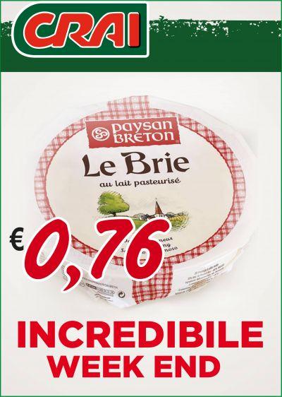 offerta formaggio brie occasione formaggio francese brie crai