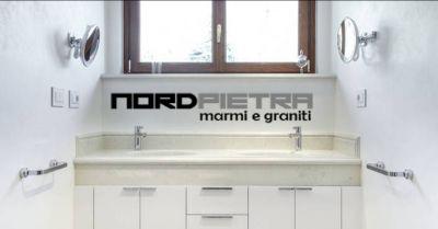 offerta rivestimenti in pietra naturale pavimentazioni occasione scale in marmo bagni como