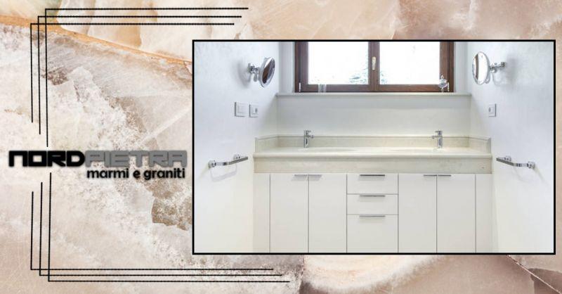 offerta realizzazione piani doccia in marmo Como - occasione produzione lavelli in marmo Como