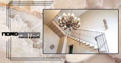 offerta realizzazione scale in marmo su misura como occasione scale in marmo e pietra como