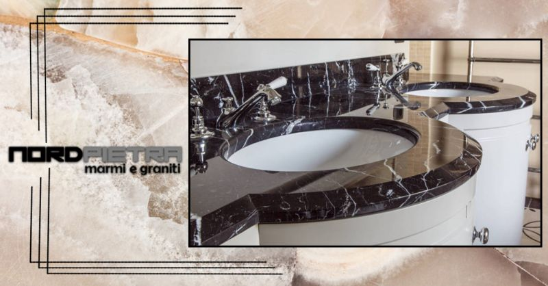 offerta lavorazione del marmo Como - occasione bagni in marmo Lavelli Piatti doccia Vasche Como