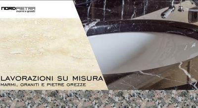 nord pietra offerta cucine su misura in marmo promozione lavorazione bagni in marmo e pietre
