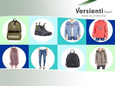 offerta abbigliamento on line promozione accessori on line versienti voguer