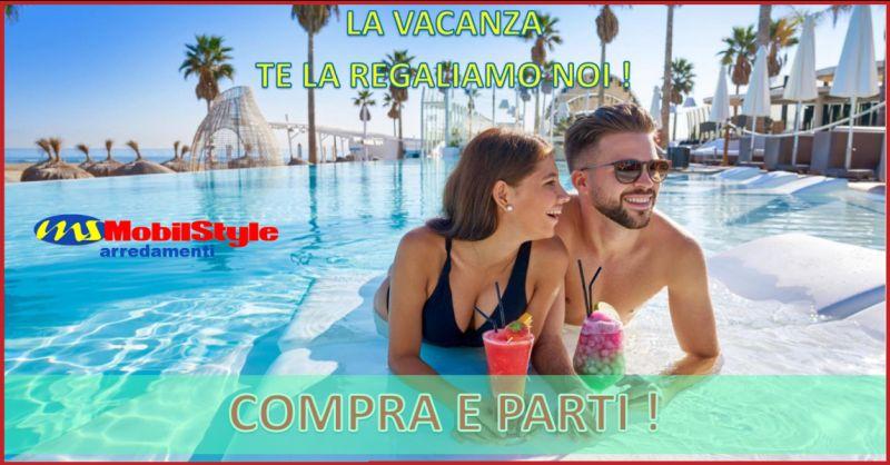 MOBILSTYLE - promozione vendita mobili artigianali con buono vacanza ragusa