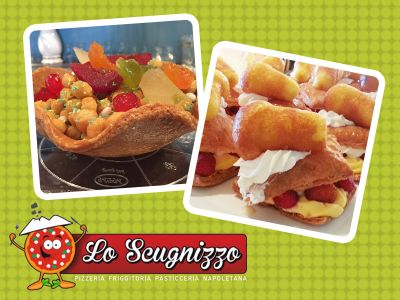 offerta specialita cucina napoletana promozione dolci tipici napoletani lo scugnizzo