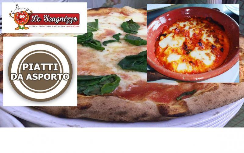 Lo Scugnizzo offerta piatti d'asporto - occasione specialità pesce e pizze napoletane