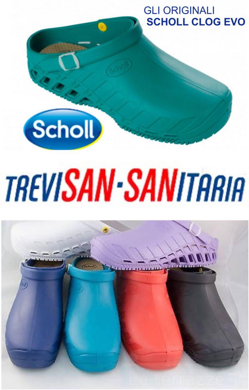 offerta scholl clog evo zoccolo professionale - promozione calzature scholl clog evo