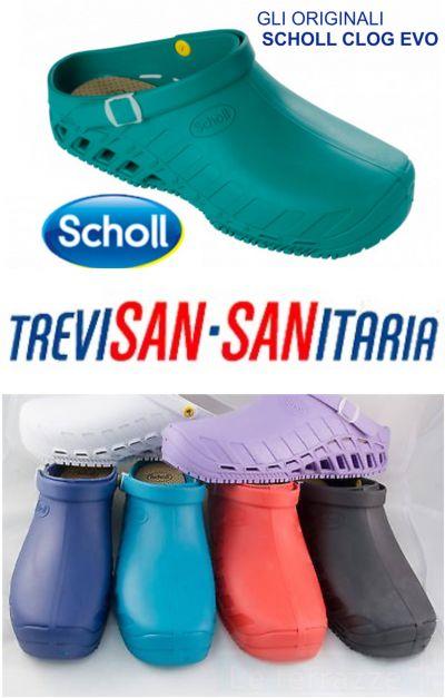 offerta scholl clog evo zoccolo professionale promozione calzature scholl clog evo