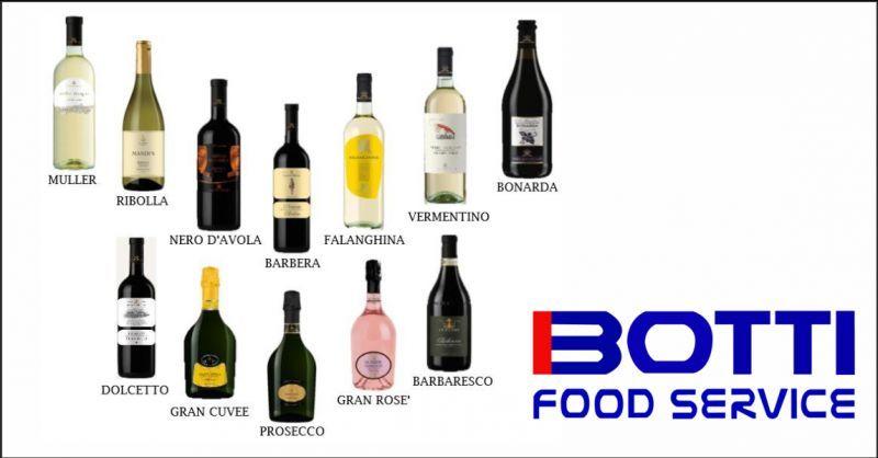 botti catering offerta vendita vino in bottiglia - occasione vendita vino falanghina imperia