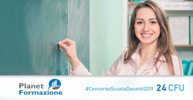 PLANET FORMAZIONE - offerta conseguimento 24 cfu concorso docenti 2019 contursi salerno