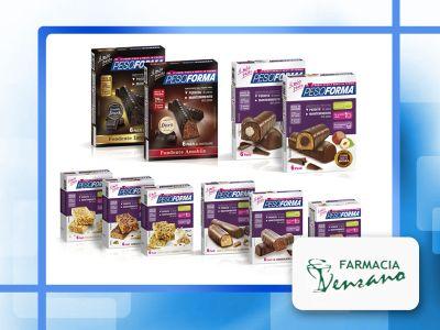 offerta pesoforma barrette sostututive pasto promozione barrette pesoforma farmacia venzano