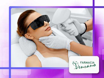 offerta epilazione permanente laser farmacia promozione trattamento laser farmacia venzano
