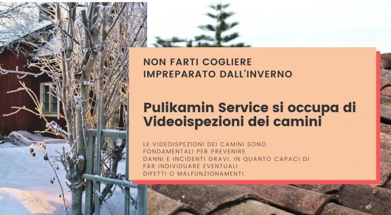 Occasione VIDEOISPEZIONI DEI CAMINI a Udine – Occasione spazzacamino a Udine