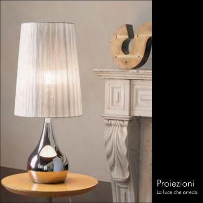 offerta lampade da tavolo promozione illuminazione da tavola proiezioni enrico vanzi como