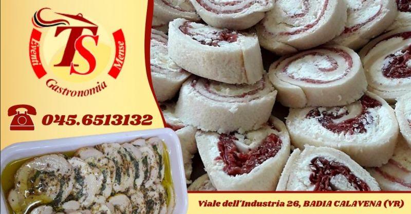 Occasione prodotti gastronomici produzione propria - Offerta gastronomia d'asporto provincia Verona