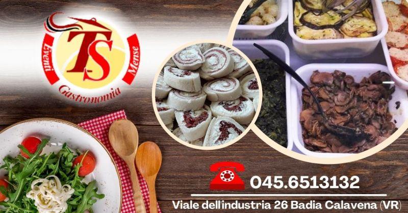 Offerta Servizio catering mense scolastiche aziendali - Occasione cucina casalinga da asporto Verona