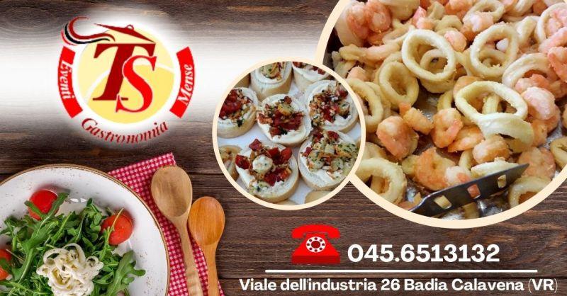 Offerta servizio di spesa a domicilio Badia Calavena - Occasione Servizio buffet a domicilio Verona