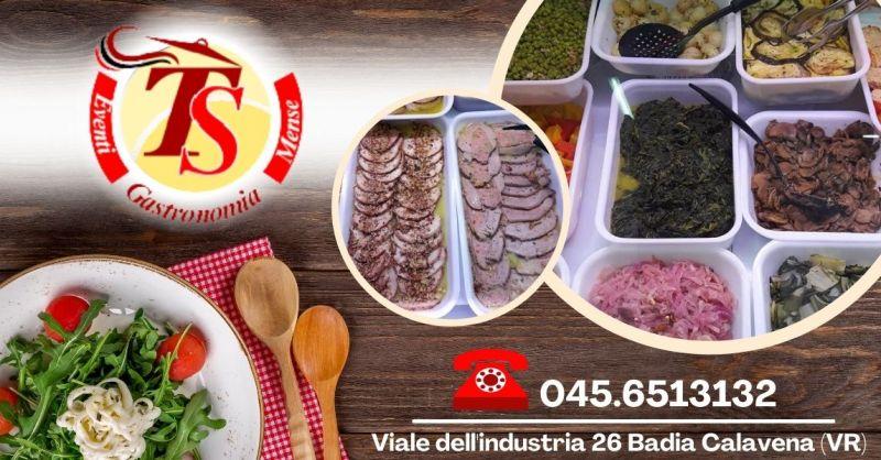 GASTRONOMIA TS - Offerta Vendita prodotti gastronomici produzione propria Verona e provincia