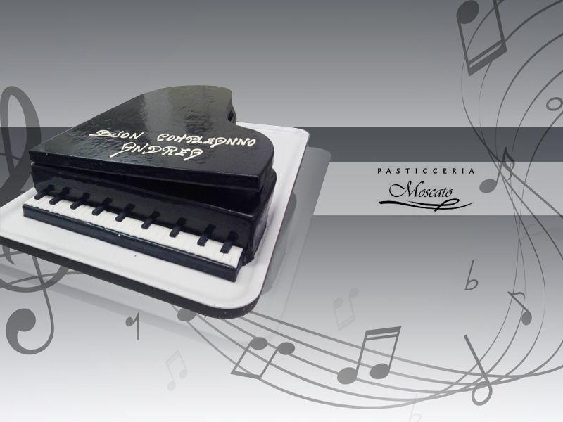 Offerta realizzazione torta piano - Promozione torte di compleanno cake design