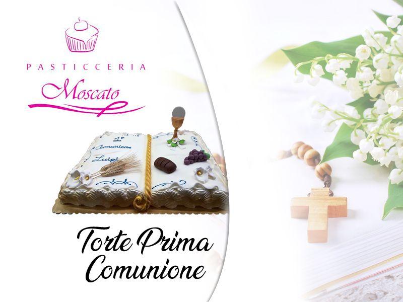 Offerta servizio realizzazione torte di compleanno prima comunione a Salerno -  Moscato Rosario