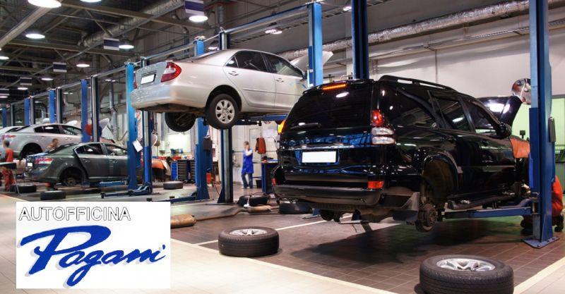 offerta gommista e deposito gomme Como - promozione convergenza e equilibratura pneumatici Como