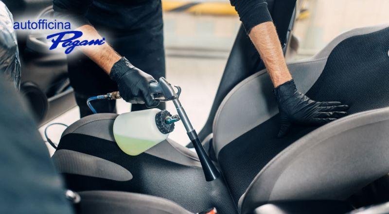 Offerta igienizzazione interni auto con antibatterico Oltrona di San Mamette Como – Promozione igienizzazione abitacolo auto Oltrona di San Mamette Como