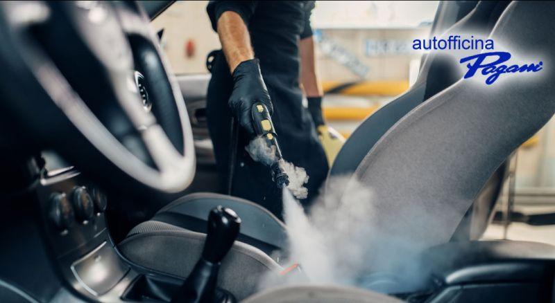 Offerta sanificazione e igienizzazione interni auto Oltrona di San Mamette Como – Promozione sanificazione abitacolo auto Oltrona di San Mamette Como