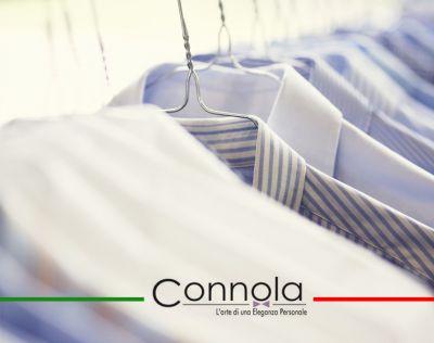 offerta pochette iniziali frignano promozione camicia sartoriale frignano sartoria connola