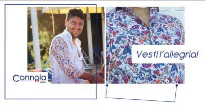 offerta vendita camicie da uomo fantasia fiori sartoria connola napoli
