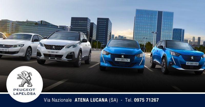 Offerta Concessionaria Peugeot Atena Lucana - Promozioni vendita auto Atena Lucana - Lapelosa