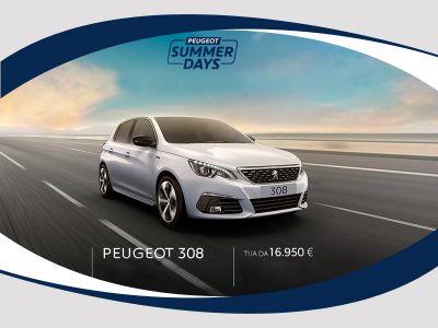 offerta vendita auto peugeut 308 berlina puretech 110 ses active a salerno lapelosa