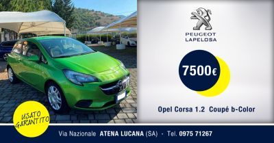 peugeot lapelosa offerta opel corsa 1 2 coupe usata atena lucana salerno
