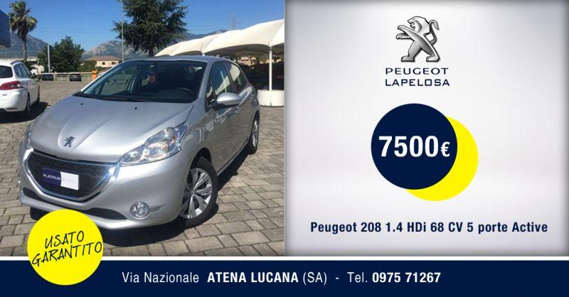 PEUGEOT LAPELOSA SRL - Peugeot 208 HDi Active Diesel Atena Lucana Salerno