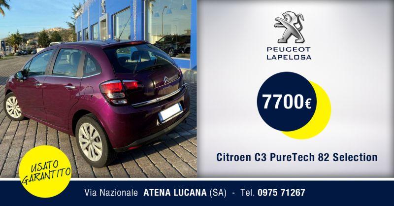PEUGEOT LAPELOSA SRL - Citroen C3 PureTech 82 Selection Atena Lucana Salerno
