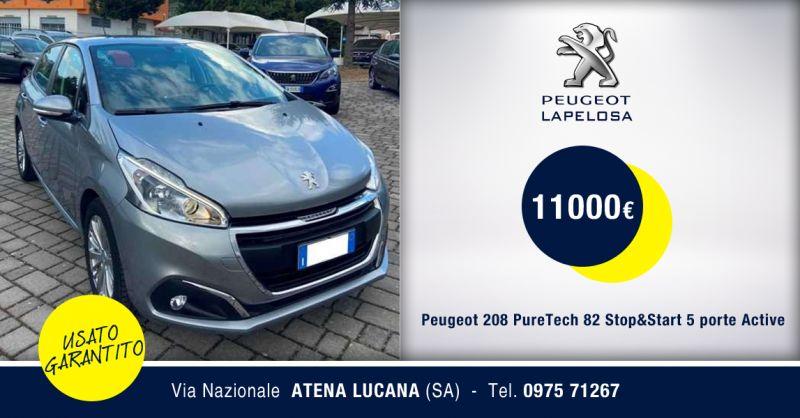 PEUGEOT LAPELOSA SRL - Peugeot 208 Stop&Start Active usata Atena Lucana Salerno