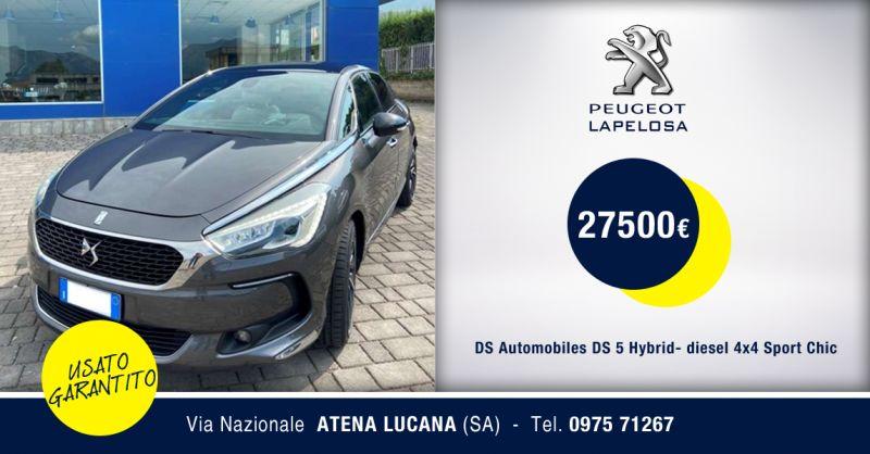 PEUGEOT LAPELOSA SRL - DS Automobiles DS 5 Hybrid diesel 4x4 Sport Chic